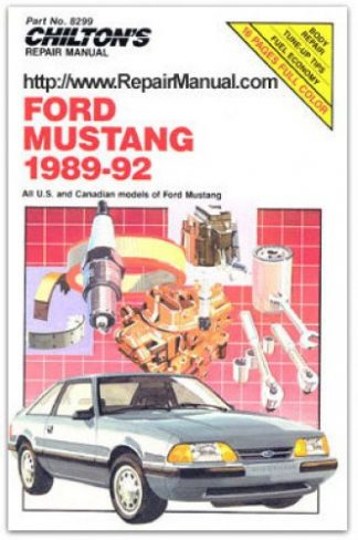 1981 ford bronco owners manual