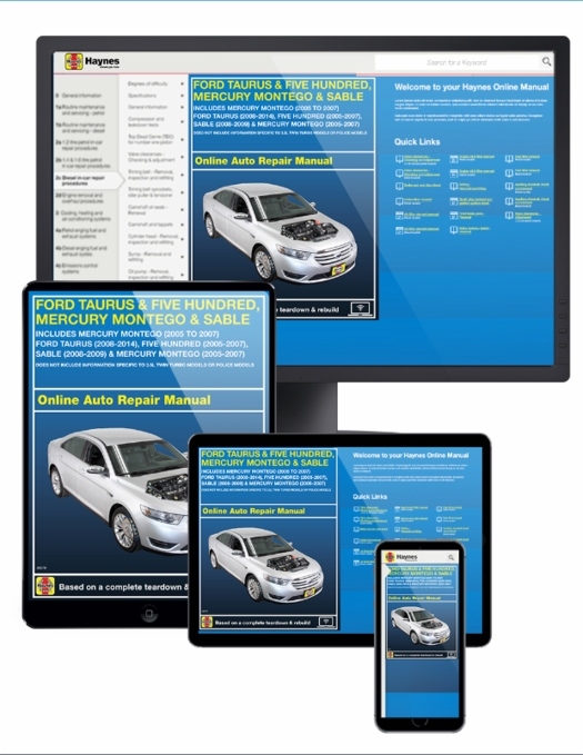 2007 ford taurus owners manual online