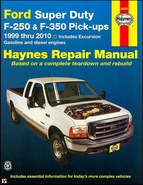 1999 ford f350 owners manual