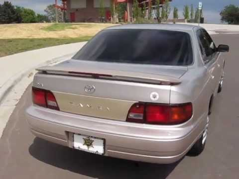 1996 toyota camry le owners manual