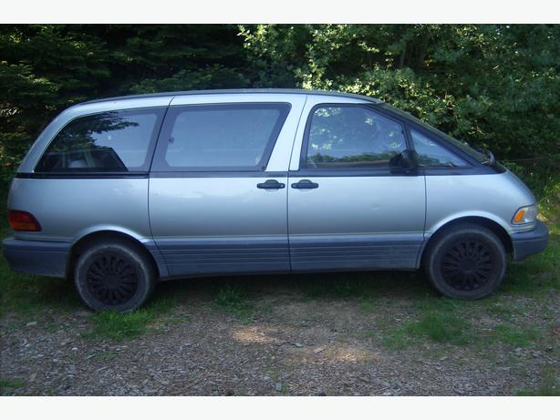 1992 toyota previa owners manual