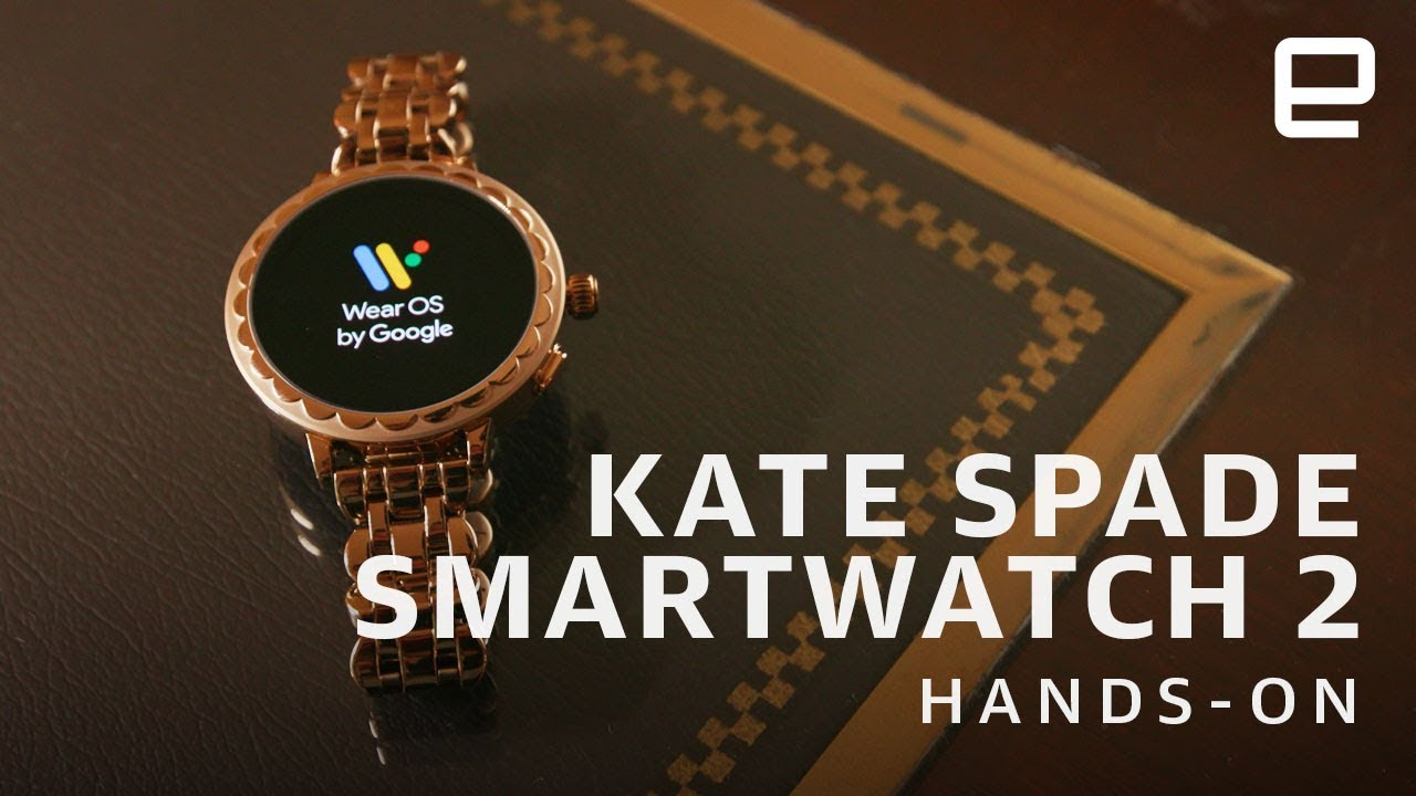manual for kate spade scallop 2 smartwatch