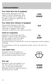 ford expedition owners manual 2001