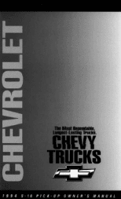 1998 chevy blazer owners manual free download