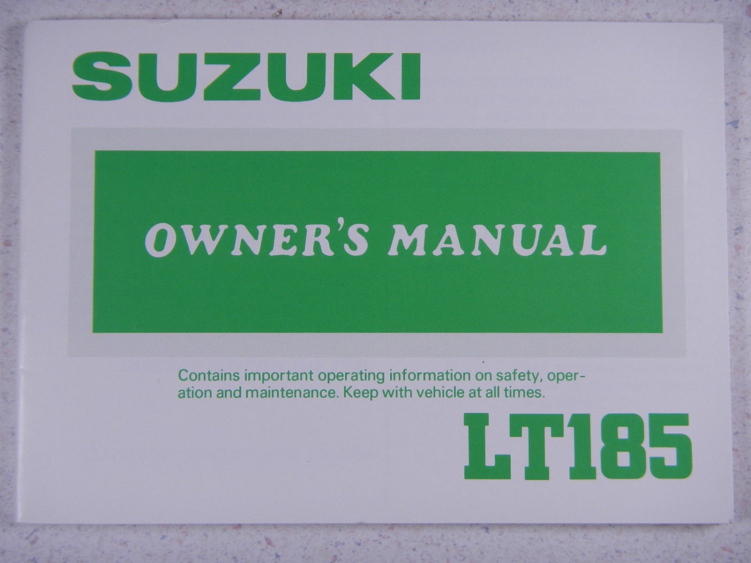 pse drive lt owners manual